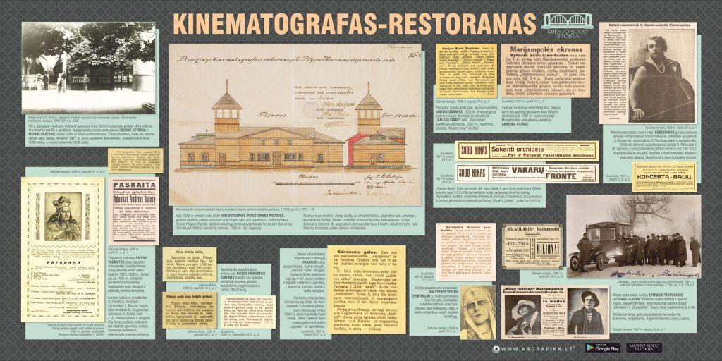 www.argrafika.lt Raminta Ardzevičienė kinematografas restoranas